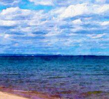 Shores of Lake Superior Sticker
