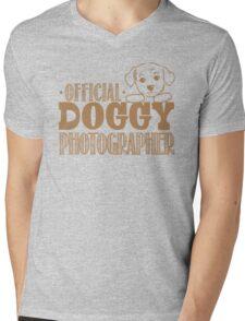 Official doggy photographer Mens V-Neck T-Shirt