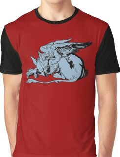 Gryphon From Alice Graphic T-Shirt