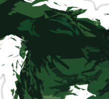 Angry Hulk Fan Art Marvel Comic Sticker
