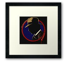 Indiana Jones - Profil Framed Print