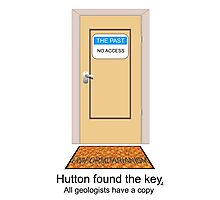 Hutton found the key. All geologists have a copy. Photographic Print