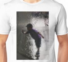 Child at Waterwall NGV international Melbourne VIC AUS  Unisex T-Shirt