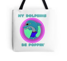 Dolphin Pops Tote Bag