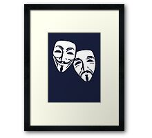 Anonymous Theatre Framed Print