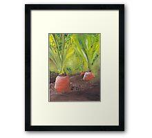 Carrots for life Framed Print