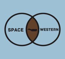 Space Western?  Kids Tee