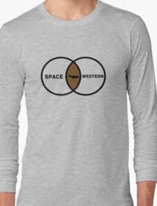 Space Western?  Long Sleeve T-Shirt