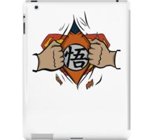 Super saiyan man tshirt iPad Case/Skin