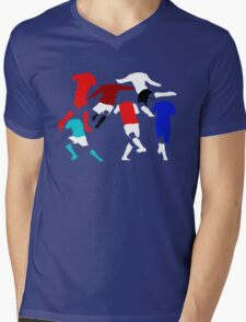Football Mens V-Neck T-Shirt