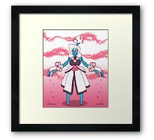 Shiromori  Framed Print