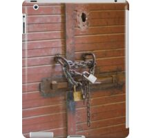 detail of old door iPad Case/Skin