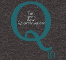 I'm your new Quartermaster Q10  in blue by morigirl