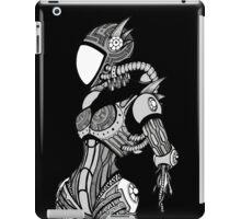Cyborg girl - On black iPad Case/Skin