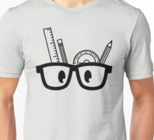 Stationery Nerd B/W Unisex T-Shirt