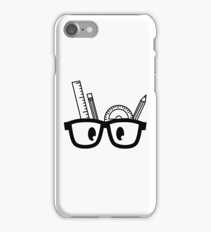 Stationery Nerd B/W iPhone Case/Skin