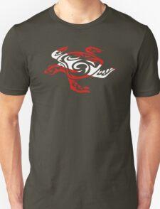 SCUBA DIVE Tribal Sea Turtle  Unisex T-Shirt