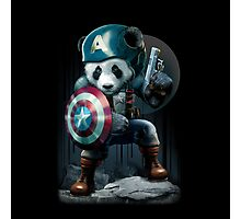 CAPTAIN PANDA Photographic Print