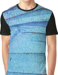 blue butterfly wing Graphic T-Shirt