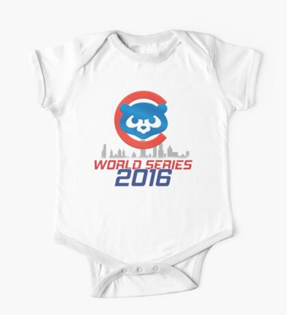 CHICAGO CUBS - WORLD SERIES CHAMPS 2016 One Piece - Short Sleeve