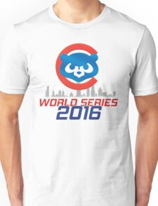 CHICAGO CUBS - WORLD SERIES CHAMPS 2016 Unisex T-Shirt