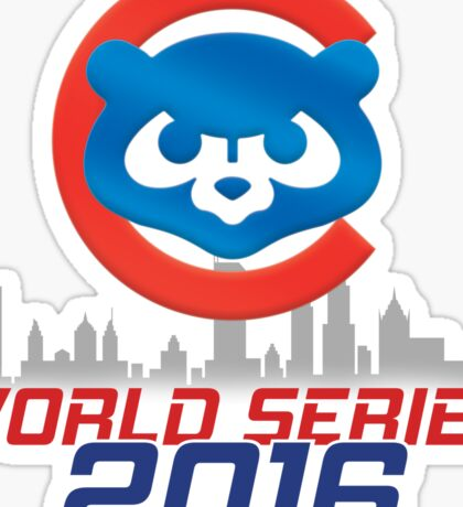 CHICAGO CUBS - WORLD SERIES CHAMPS 2016 Sticker