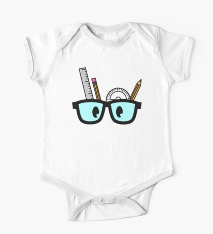 Stationery Nerd Colour One Piece - Short Sleeve
