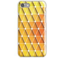 Abstract geometric colorful background, pattern design elements iPhone Case/Skin