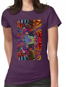 Psychedelic Trip 2-cases Womens Fitted T-Shirt