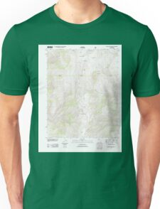 USGS TOPO Map California CA Blanco Mountain 20120327 TM geo Unisex T-Shirt