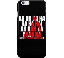 Dr Horrible Laugh  iPhone Case/Skin