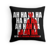 Dr Horrible Laugh  Throw Pillow
