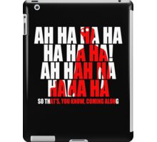 Dr Horrible Laugh  iPad Case/Skin