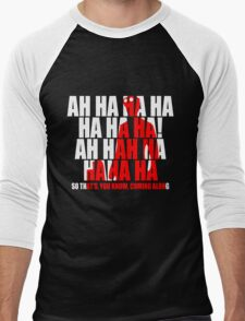 Dr Horrible Laugh  Men's Baseball ¾ T-Shirt