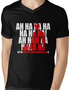 Dr Horrible Laugh  Mens V-Neck T-Shirt