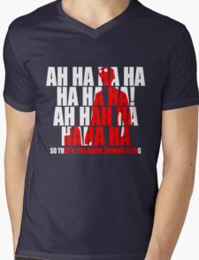 Dr Horrible Laugh  Mens V-Neck T-Shirt