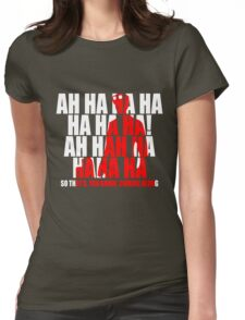 Dr Horrible Laugh  Womens Fitted T-Shirt