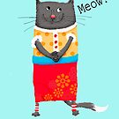 Crazy Cat Meow by Mary Taylor