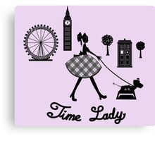 Time Lady Canvas Print