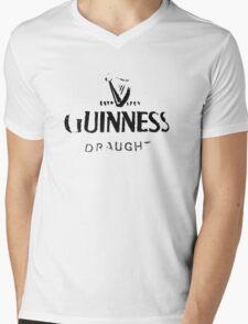 Guinness Draught Mens V-Neck T-Shirt
