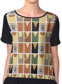 Screen Uniforms - Lost In Space - The Crew -Style 1 Chiffon Top