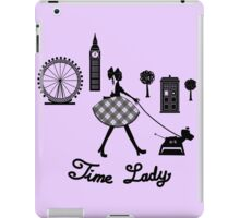 Time Lady iPad Case/Skin