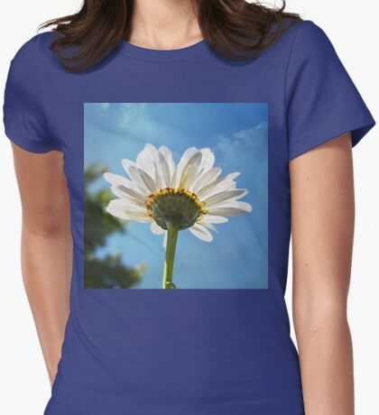 Searching Upward Womens Fitted T-Shirt