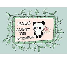 Pandas against the Patriarchy Photographic Print