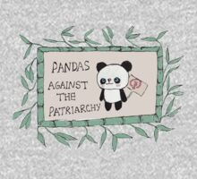 Pandas against the Patriarchy One Piece - Short Sleeve