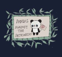 Pandas against the Patriarchy Kids Tee