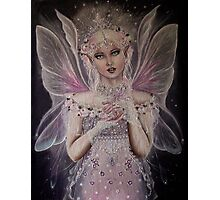 Gossamer wings white pink fairy faerie fantasy  Photographic Print