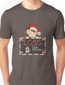Christmas Products - Loco for Cocoa Unisex T-Shirt