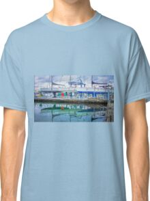 Sailing Boat Reflections Classic T-Shirt
