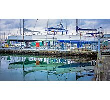 Sailing Boat Reflections Photographic Print